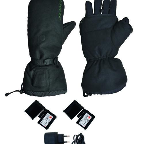 Beheizbare Handschuhe Faeustlinge Jagdhandschuh Sporthandschuh Heizung Fire Mitten Ag4 Alpenheat