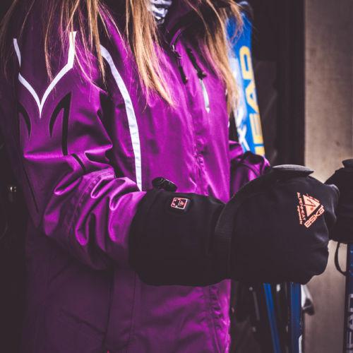 Beheizbare Handschuhe Wintersporthandschuhe Fire Mitten Reloaded Ag7 Alpenheat