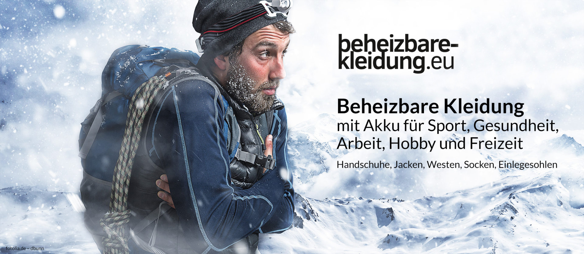 beheizbare winterbekleidung