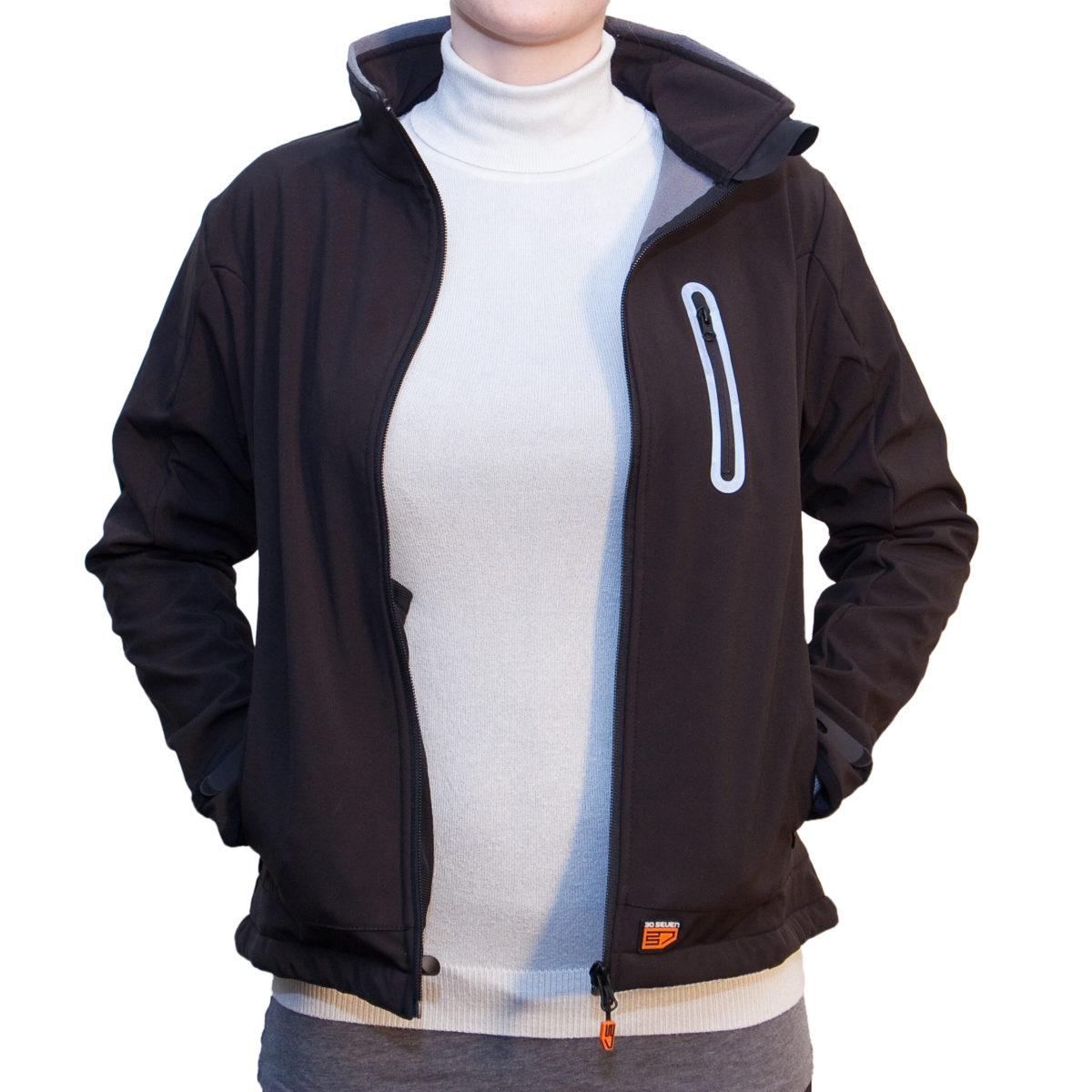buy online 33579 95b98 30seven Beheizbare Jacke für Frauen/Damen (Softshell ...