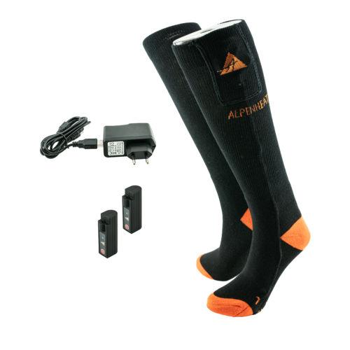 Beheizbare Socken Aj26 Alpenheat Beheizbare Kleidung