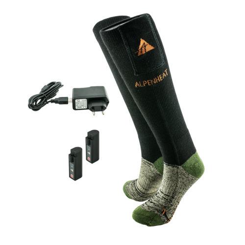 Beheizbare Socken Mit Heizung Aj27 Alpenheat Beheizbare Kleidung