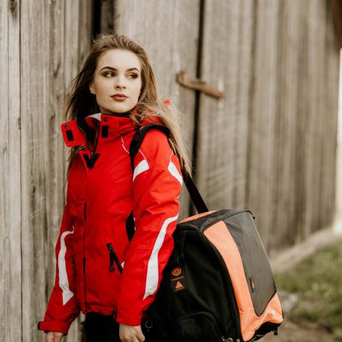 Beheizte Tasche Aj8 Fire Boot Bag Alpenheat Beheizbare Kleidung Sport
