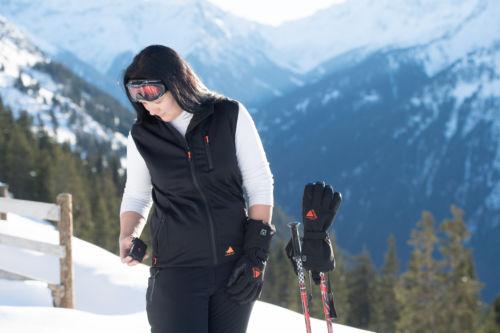Beheizte Weste Damen Aj9 Skikleidung Alpenheat Beheizbare Kleidung.eu