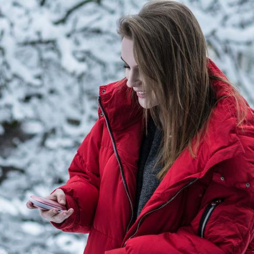 Handwaermer Beheizte Powerbank Bp13 Alpenheat Beheizbare Kleidung Winter