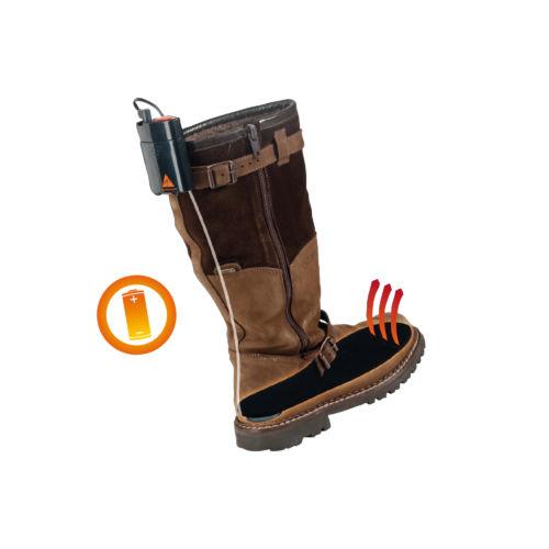 Schuheizung Beheizte Schuhe Ah5 Trend Alpenheat Beheizbare Kleidung Funktion