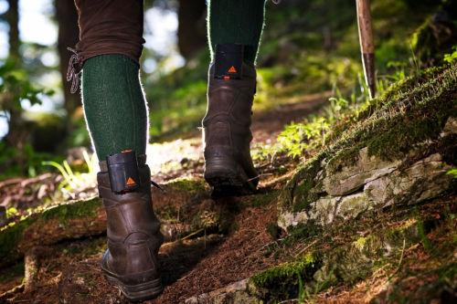Schuheizung Beheizte Schuhe Ah5 Trend Alpenheat Beheizbare Kleidung Wandern