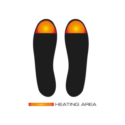 Schuheizung Beheizte Schuhe Einlegesohlen Ah11 Trend Alpenheat Beheizbare Kleidung Heiztechnik